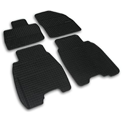ALFOMBRAS ALFOMBRILLAS DE GOMA PREMIUM compatibles con HONDA CIVIC 8 [ modelos de 3/5 puertas de 2006-2011]