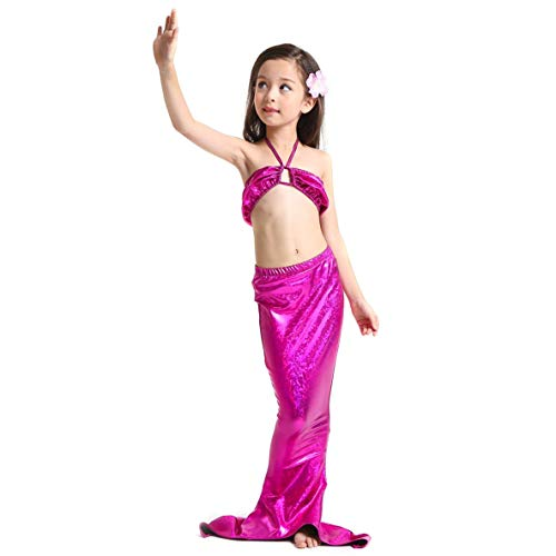 (Sommer Kinder Meerjungfrau Schwanz Badeanzug Mode Kostüm Schwimmen Beachwear)