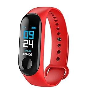 24 Stunden Zeitanzeige Damen Manner Smart Sport Armband Telefon Pairing Armband Bluetooth Uhr Armband Fitness-AktivitäT Herzfrequenz-Tracker Blutdruck-Uhr Laufuhren Fitnessuhr