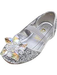 e88990e412f1d Amur Leopard Enfant Fille Chaussure Reine des Neiges Princesse Déguisements  Diamant Sandale Crystale