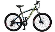 MTB Mountain Bike 26inch| 21 Speed |Sturdy Carbon Steel Frame Bike| Fronk Fork Suspension System | For Men and
