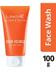 Lakmé Peach Creme Face Wash, 100g