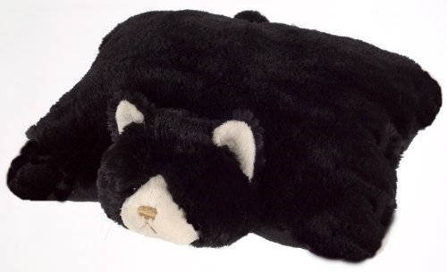 SMALL BLACK CAT PILLOW PET,