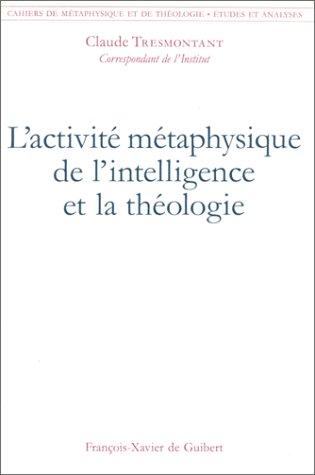 L'activité métaphysique de l'intelligence et la théologie