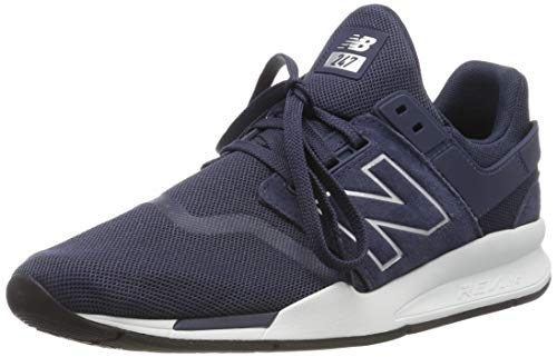 5a41ab33e9 New Balance Herren 247v2 Sneaker, Weiß Pigment, 43 EU