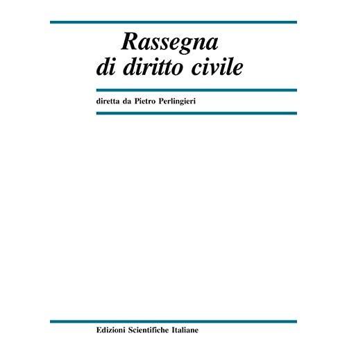 Rassegna Di Diritto Civile (2017): 4