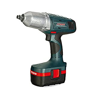 ARGES 19.2V CORDLESS IMPACT WRENCH 2 BATTERY PROFESSIONAL TOOL DRILL HIGH POWER
