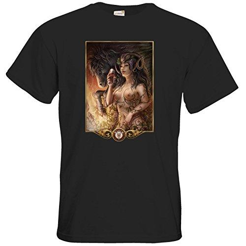 getshirts - Das Schwarze Auge - T-Shirt - Götter - Rahja Black