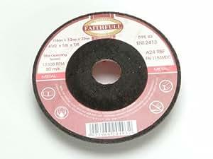 Faithfull fal1153mdc 17Mitte Cut Disc 115X 3,2X 22Metall