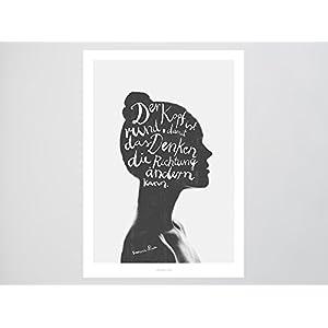 Kunstdruck Poster / Denken