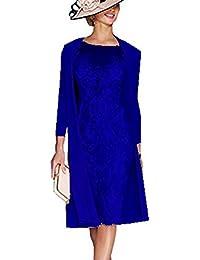 Snow Lotus - Vestido - para mujer Azul zafiro 42