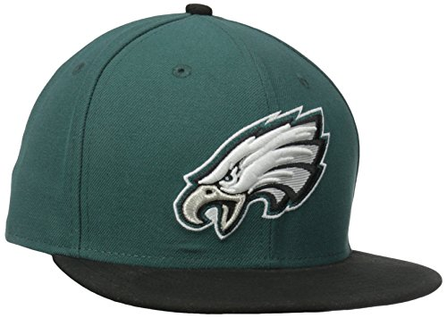 New Era NFL On Field Philadelphia Eagles Cap 5950 Basic Fitted Basecap Cap Kappe(7 1/2) -