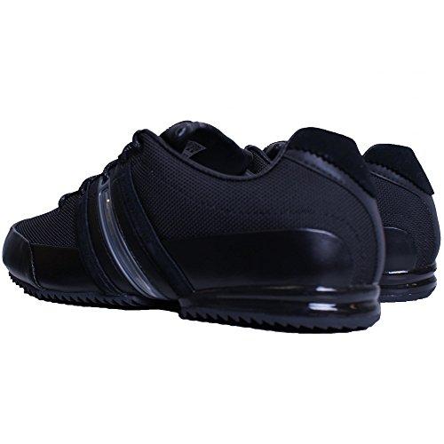 adidas, Sneaker uomo nero Black Black