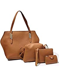 Black Handbag Combo Offer For Woman With Sling Bag/Set Of 4 Handbag For Women And Girls Stylish Branded & Latest...