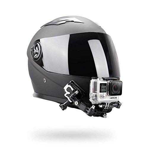 El soporte de la barbilla del casco se puede instalar en cualquier lugar del casco de acuerdo a tu necesidad. Puedes ajustar a cualquier ángulo de disparo, como tu visibilidad hacia delante, visibilidad hacia atrás y zona ciega. Por cierto, los so...