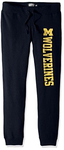 OTS NCAA Damen Fleece Hose, Damen, NCAA Women's Fleece Pant, Fall Navy, X-Large -