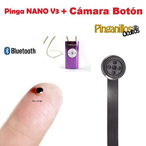 NANO V3 El Pinga Nano es el modelo de pinga más pequeño y eficaz, ademas en esta versión V3 se le incluye el último modelo de collar inductor SME-02 recargable, más discreto, funcionamiento por Bluetooth y un micrófono con una extensión de 1 metro, p...