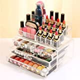 Inshine Cosmetic Organizer Makeup Storage Box Lipstick Holder Stand