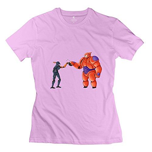 KFR-Maglietta donna Chappie Hero Rosa Pink Large