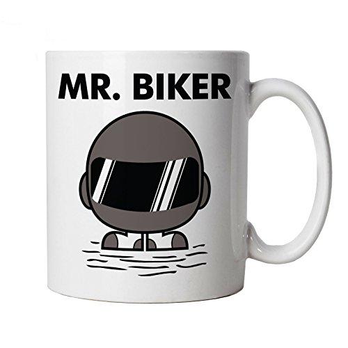 Biker, M., Vectorbomb Mug motif moto