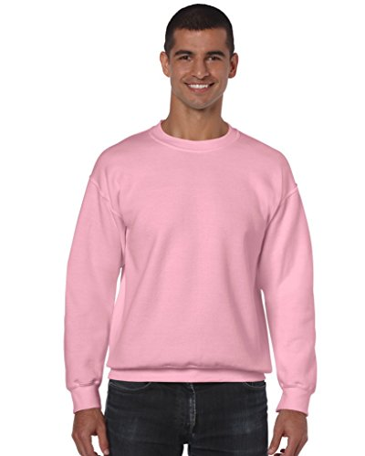 Heavy Blend Crewneck Sweatshirt - Farbe: Light Pink - Größe: M