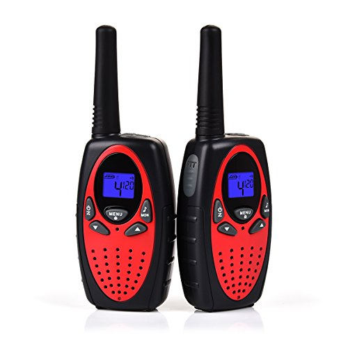 Upgrow Talkie Walkie, RT-628 1 paire Kids Talkie-Walkie Rechargeable longue portee 3 km Interphone cadeau de Noël Jouet pour garçon /...
