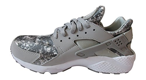 Nike Air Huarache, Chaussons Sneaker Homme wolf grey pure platinum cool grey white 091