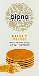Biona Organic Honey Waffles 175g (Pack Of 12)