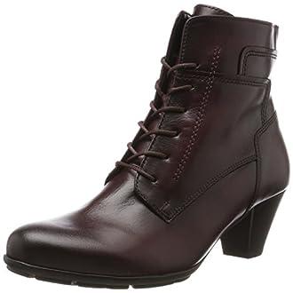 Gabor Shoes Gabor Basic, Bottes Femme, Rouge (25 Wine Effekt), 38.5 EU