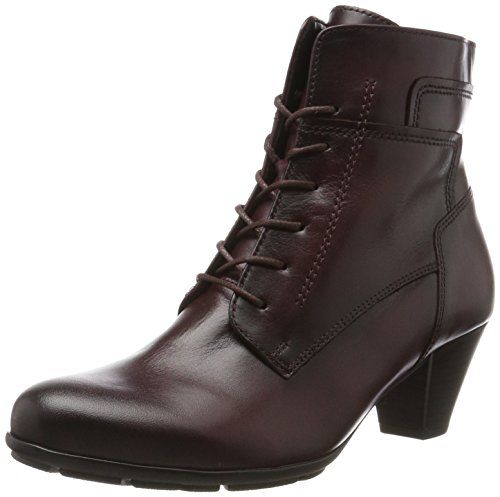 Gabor Shoes Damen Basic Stiefel, Rot (25 Wine (Effekt)), 43 EU