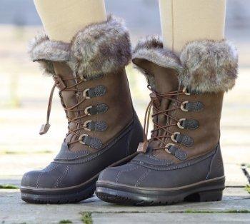 Meribel Stiefel Reiten Schuhe stabile Yard Braun