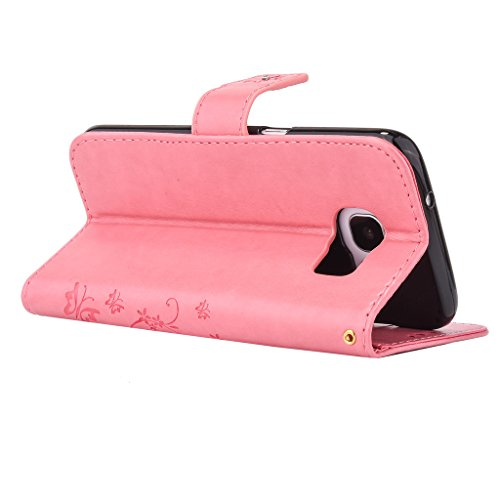 Mo-Beauty, Borsa bowling donna Gray Samsung Galaxy S6 Pink