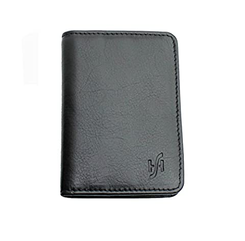 Men's Ultra Slim RFID BlOCKING High Quality Genuine Leather Credit Card Holder Wallet Mini Card Case - Gift Boxed By Starhide