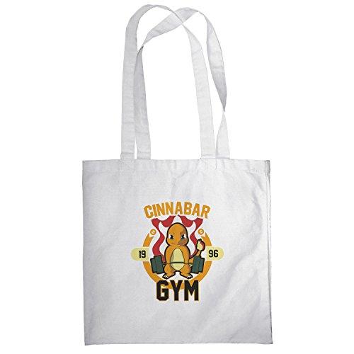 Texlab–Cinnabar Gym–sacchetto di stoffa Bianco