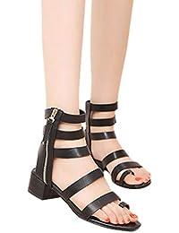 Scarpe Con De Dentada Suela amp;scarpe Prendimi Sandalias Bajas Piel By eHW2YbE9ID