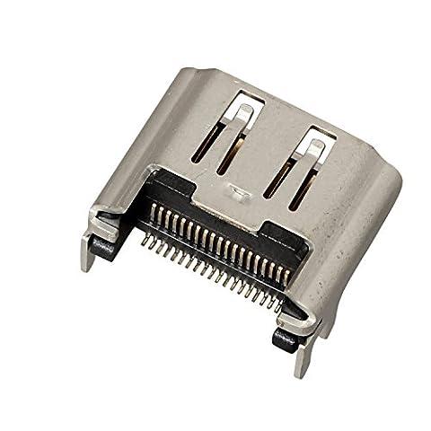 Timorn Port de remplacement du connecteur d'interface de prise PS4