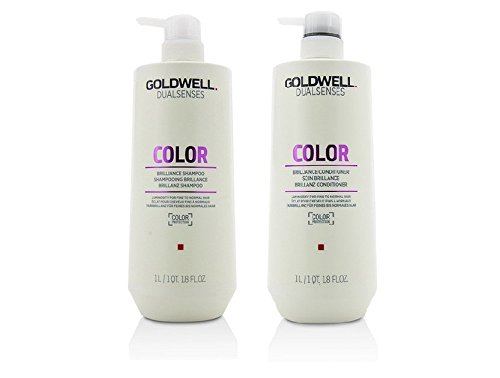 Goldwell Dualsenses Color Shampoo & Conditioner Duo (25.4 oz each) by Goldwell