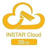 20GB Cloudspeicher für die INSTAR Cloud (2x 10GB für 1 Jahr / HTML5 Videowiedergabe / erweiterte Bewegungserkennung / Verwaltung von Alarmaufnahmen / Online NAS / NVR)