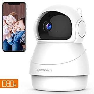 APEMAN Wifi Camera 1080P Indoor Wireless Security IP Camera with 2-Way Audio/Motion Detection Night Vision Home surveillance CCTV Monitor for Baby/Elder/Pet