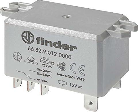 Finder 66.82 Leistungs-Relais Serie 66, 230V, AC, 2W, 30A