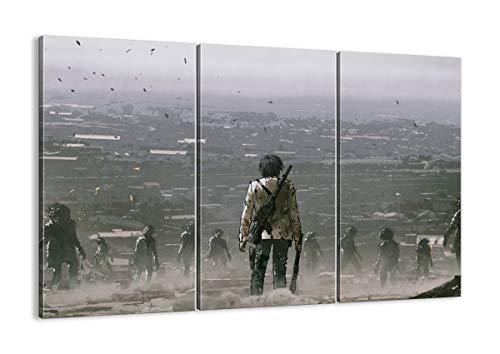 Bild auf Leinwand - Leinwandbilder - DREI Teile - Breite: 105cm, Höhe: 70cm - Bildnummer 4101 - dreiteilig - mehrteilig - zum Aufhängen bereit - Bilder - Kunstdruck - CE105x70-4101
