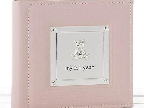 Babyalbum 77803 Album photo de naissance rose pour bébé Inscription My 1st Year