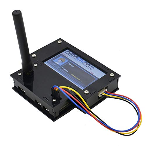 Single Relais 3,2 Zoll Full Acryl Gehäuse Schwarz Multifunktionsanzeige Durable HS Hat Hotspot Mit Himbeer Pi Null W Monitor Relay