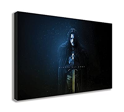 Game Of Thrones Season 7 Winter Has Come Canvas Wall Art - low-cost UK light shop.