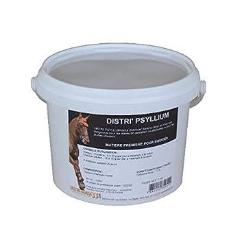 DISTRI'HORSE33 Psyllium Cheval - Colique de Sable - Contenance: 1 kg