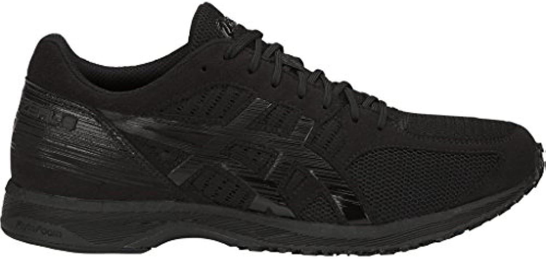 ASICS Mens Tartherzeal 6 Running scarpe, Triple nero - 11 UK | Consegna ragionevole e consegna puntuale  | Uomini/Donna Scarpa