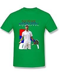 FHY Hombres de Novak Djokovic camisetas