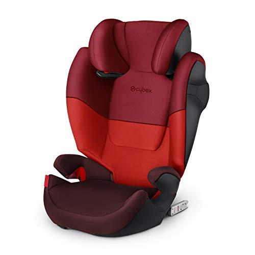 Cybex Seggiolino Auto per Bambini Solution M-Fix, per Auto con e Senza Isofix, Gruppo 2/3/15-36 Kg, Collezione Colori 2019, Rumba Red