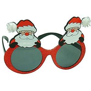 Diabolical gifts DP0927 - Gafas de Navidad, diseño de Papá Noel