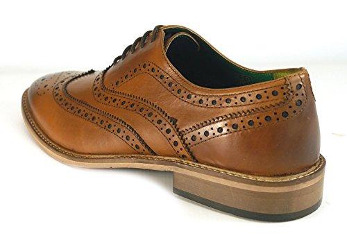 Frank James , Chaussures de ville à lacets pour homme peau